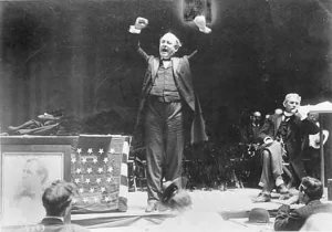 """William Jennings Bryan is pretty much one of the biggest rock stars of American Christian fundamentalism."""