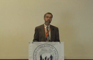 Stephen Baskerville was a Fellow at Allan Carlson's Howard Center and, along with Michael Farris, spoke at the 2009 World Congress of Families conference in Amsterdam that HSLDA sponsored.
